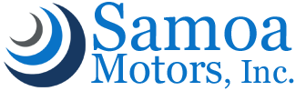 Logo, Samoa Motors, Inc. - Ford Dealership